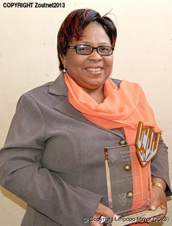 Limpopo Mirror   News   Local teacher wins national award