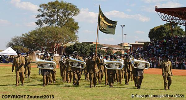 The ZCC Brass band were entertained the full Univen Stadium Zcc Brass Band